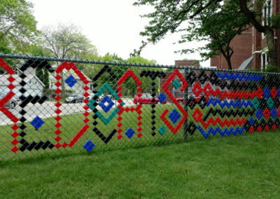 Bay View Highschool Fence Project